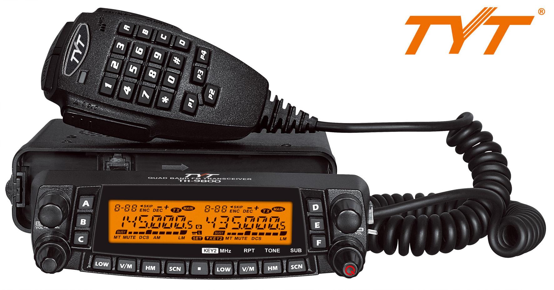 TYT TH-9800 QUAD Band V2 YAESU FTM-400XDE